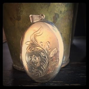 Sterling silver vintage locket